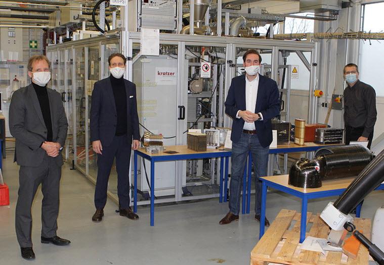 CDU State Parliament Candidate Andreas Sturm Visits the Hydrogen Research Center in Eppelheim