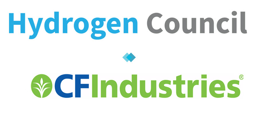 fuel cells works, cf industries, hydrogen council