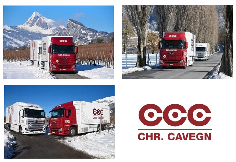 Chr. Cavegn AG Takes Over the Keys of its First Hyundai XCIENT Fuel Cell Trucks