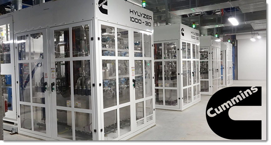 Cummins Hydrogen Technology Powers the Largest Proton Exchange Membrane PEM Electrolyzer in Operation in the World