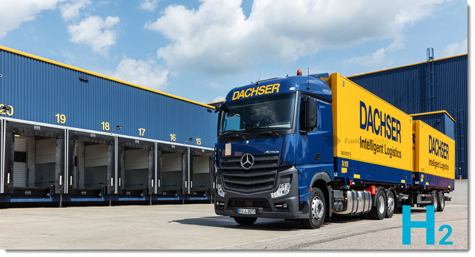 Dachser is a New Member of the German Hydrogen and Fuel Cell Association DWV