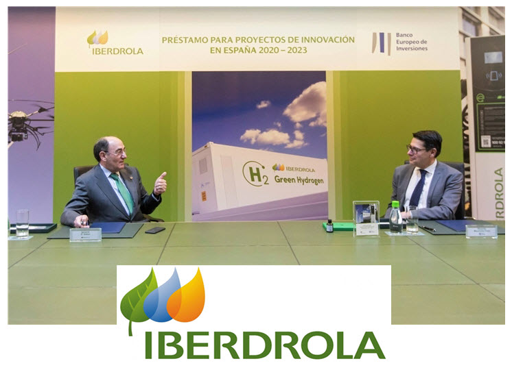 EIB Supports Iberdrolas Innovation Strategy with 100 Million Euros in Financing for Green Hydrogen Renewable Energy