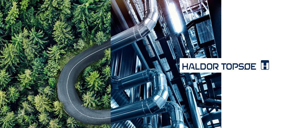 Gron Fuels LLC Select Haldor Topsoes HydroFlex%E2%84%A2 Renewable Fuels and H2bridge%E2%84%A2 Bio Hydrogen Technologies