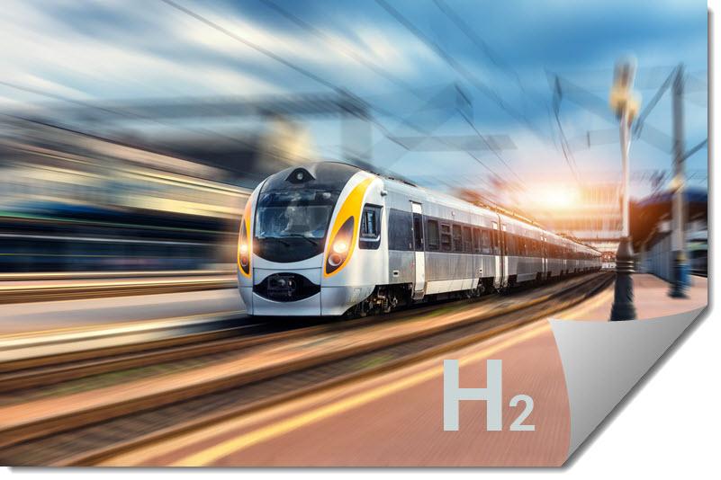 Fuel cells works, hydrogen, Leclanche, tren, fuel cells
