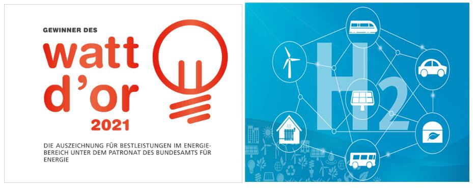 Hydrogen Ecosystem for Emission Free Mobility Wins Watt dOr 2021