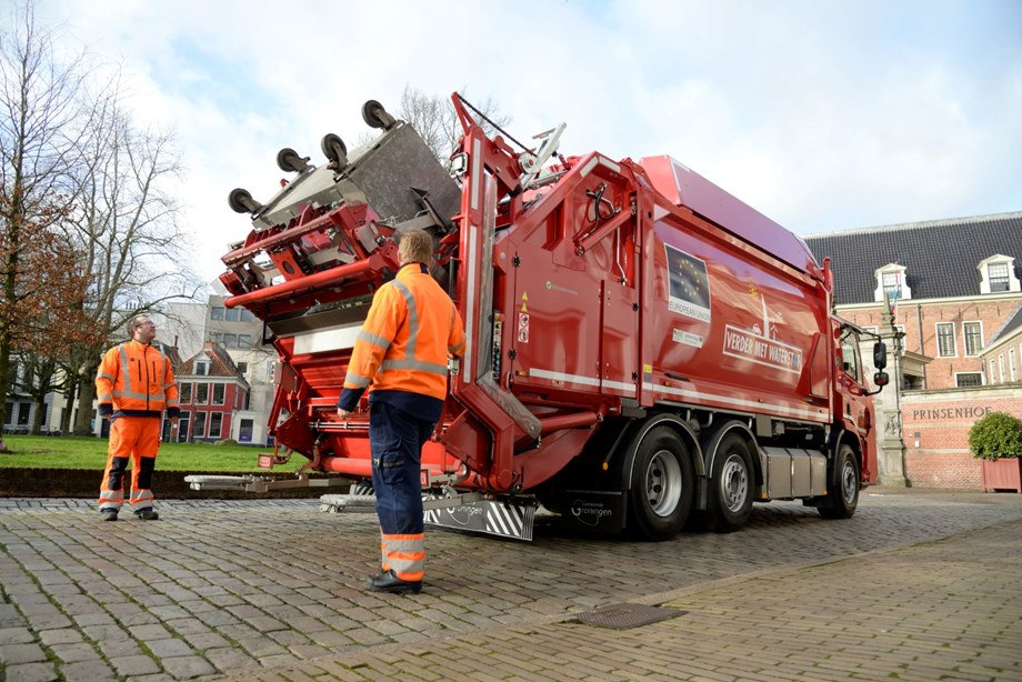 fuelcellsworks, Hydrogen Fuel Cell Waste Truck takes to the Streets of Groningen