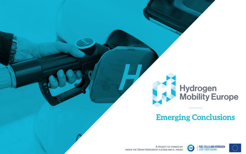 fuel cells works, hydrogen mobility, europe, hydrogen
