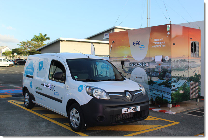 Hydrogen The First Steps in New Caledonia