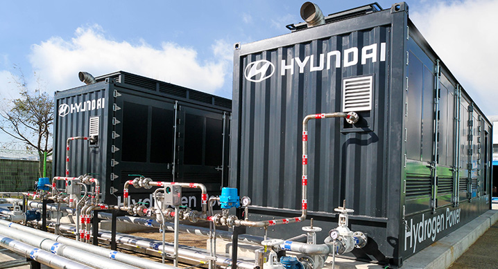 Hyundai Motor Company Begins Full Scale Operation of Hydrogen Fuel Cell Power Generation System Based on Domestic Proprietary Technology 1