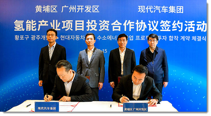 Hyundai Motor Group Establishes Hydrogen Fuel Cell System Production and Sales Subsidiary in Guangzhou China