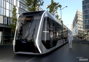 Hyundai Rotem Hydrogen Tram