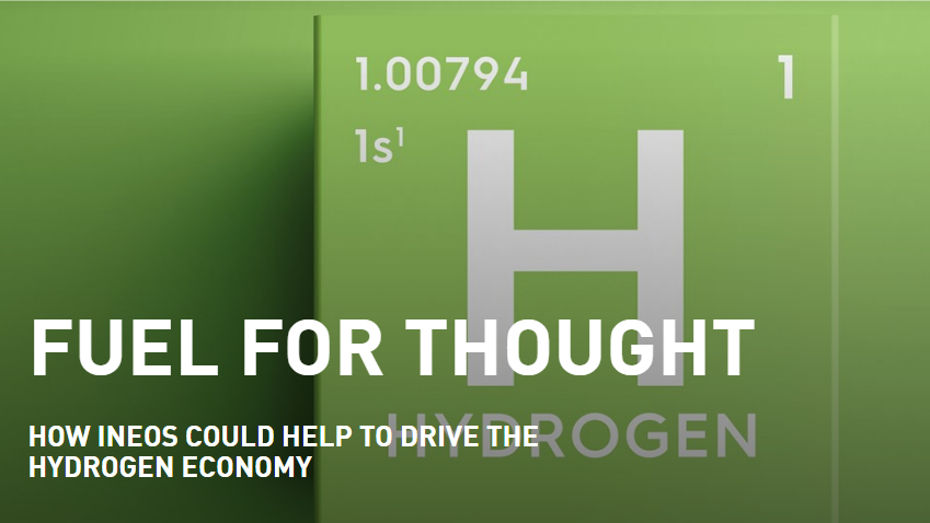 fuel cells works, ineos, hydrogen, fuel for thought