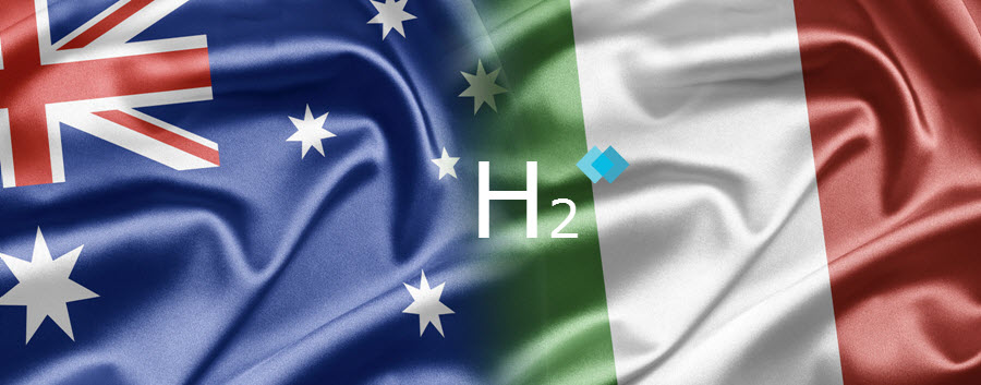 Italy and Australia Bridging Two Continents with Hydrogen and Renewable Fuels Research