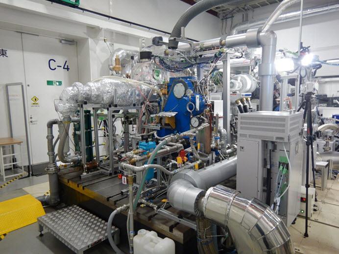Mitsubishi Hydrogen Engine