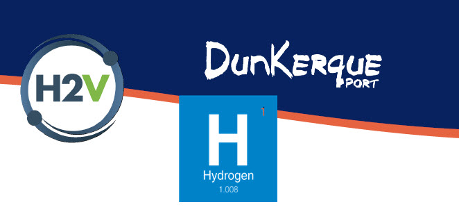 Port of Dunkirk and H2V Commit to Green Hydrogen