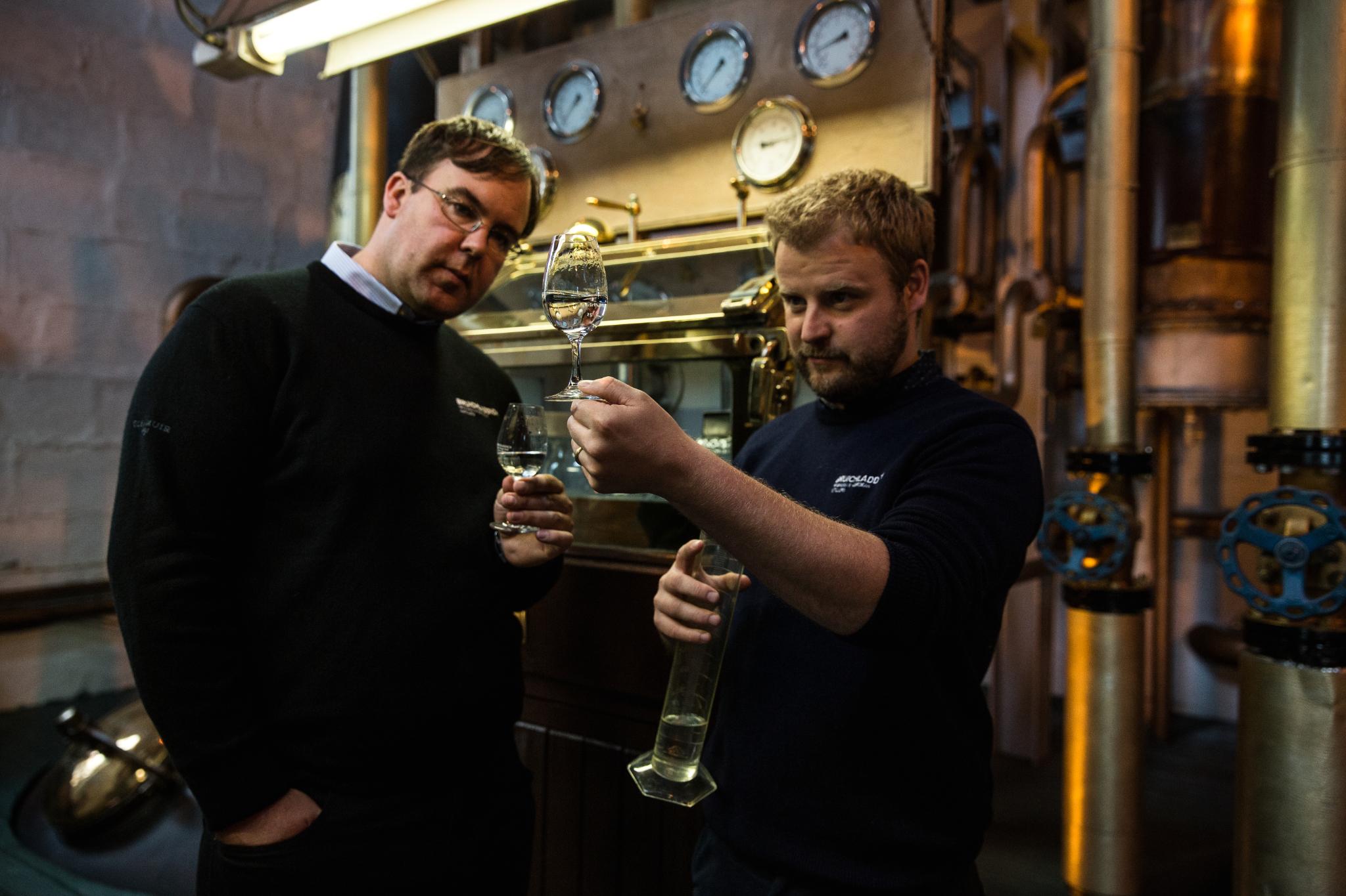 Production Director Allan Logan with Head Distiller Adam Hannett 2