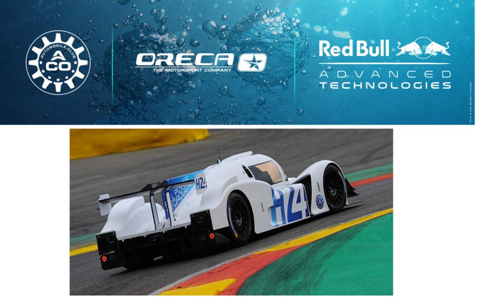 fuel cells works, red bull advanced technologies, hydrogen, le mans, oreca