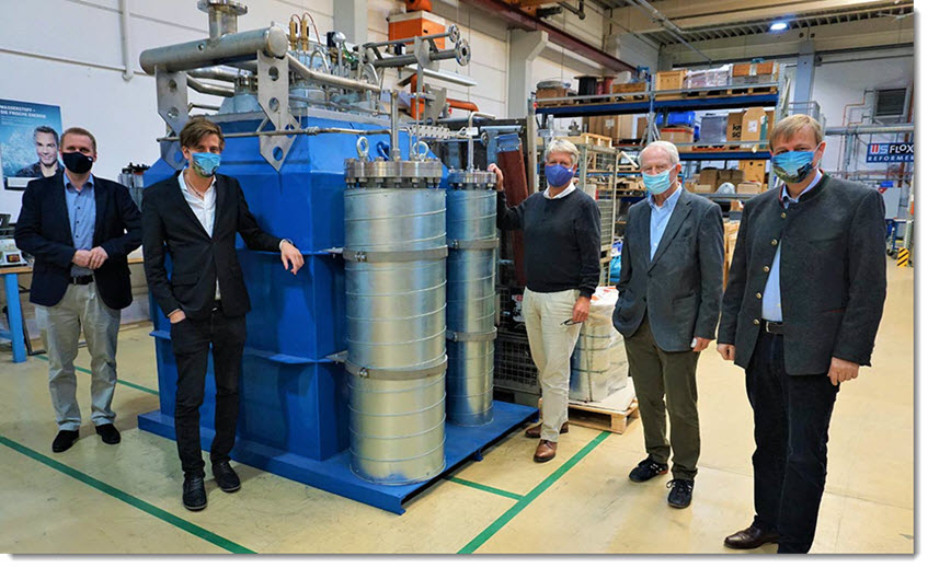 Regional Hydrogen Made from Biomass Clean and Efficient