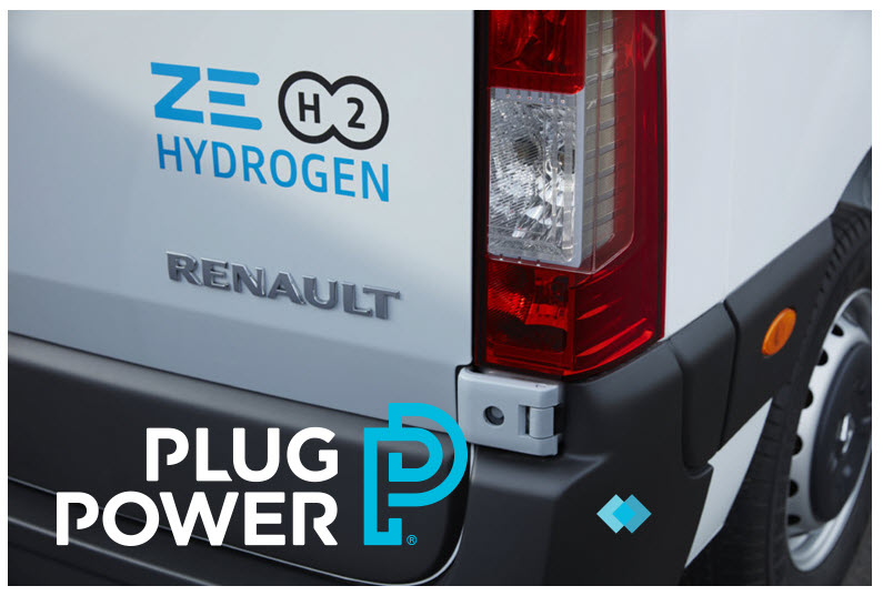fuelcellsworks, Groupe Renault & Plug Power Join Forces to Become Leader in Hydrogen