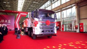 Sany Hydrogen Successfully Introduces Fuel Cell Dump Truck