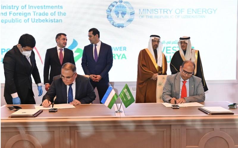fuel cells works, Saudi Arabia's ACWA Power, Uzbekistan, Hydrogen