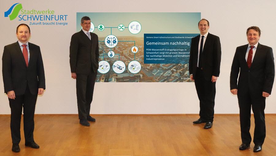 fuel cells works, Siemens and Stadtwerke Schweinfurt Cooperating on Green Hydrogen