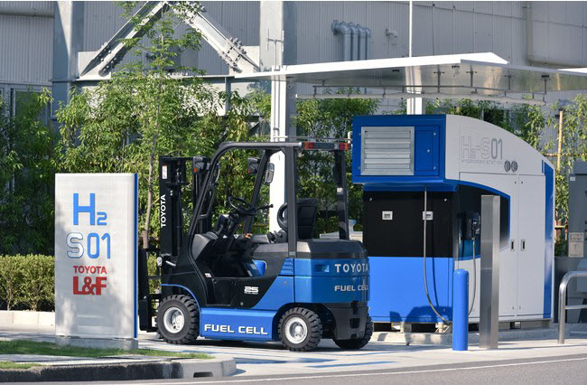fuel cells works, simplefuel, toyota