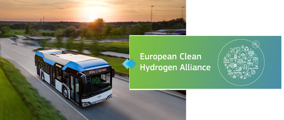fuel cells works, Solaris Joins European Clean Hydrogen Alliance