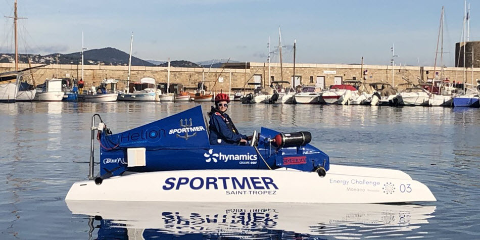 Sportmer Launches Prototype Hydrogen Boat 1