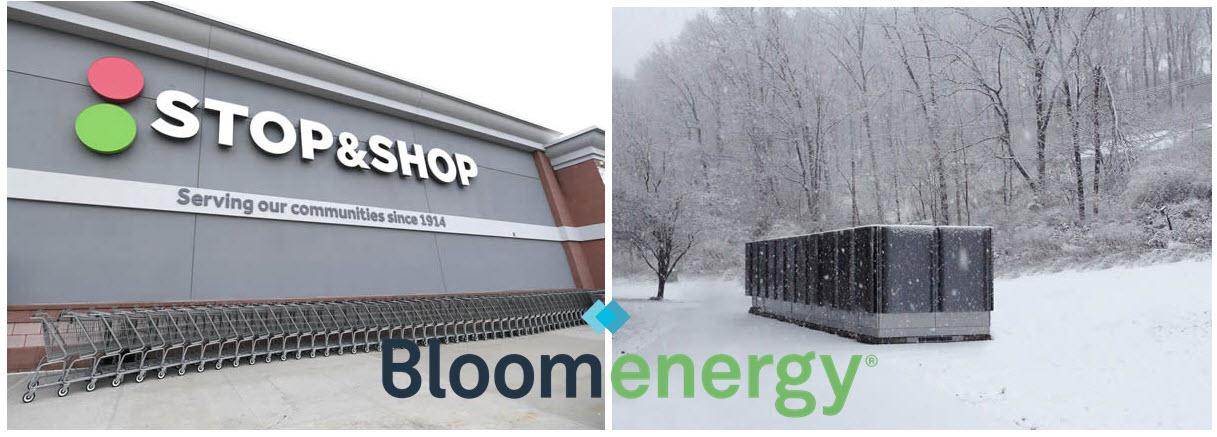 fuel cells works, stop & shop, bloom energy
