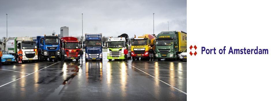 The Amsterdam Port Region Wants 20 Hydrogen Vehicles