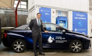 The First Hydrogen Refueling Station in Spain for Long Range Fuel Cell Electric Vehicles Inaugurated 2