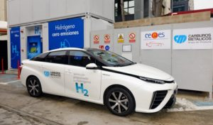 The First Hydrogen Refueling Station in Spain for Long Range Fuel Cell Electric Vehicles Inaugurated 4