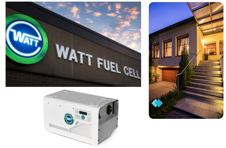 WATT Fuel Cell and Peoples Gas Announce Milestone in Residential Fuel Cell Program