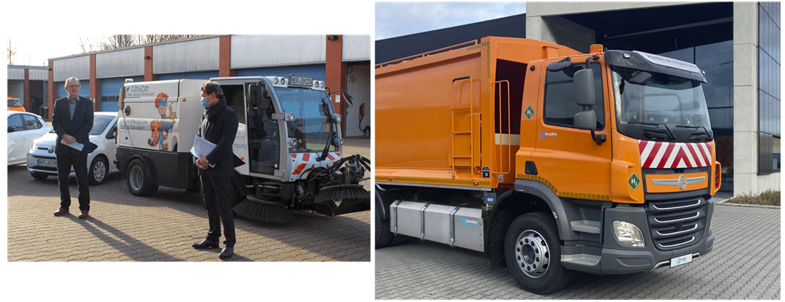 Waste Disposal Company Herne Adds 13 Refuse and 2 Sweepers Powered by Hydrogen Fuel Cells