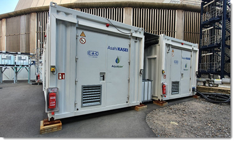fuel cells works, water electrolysis, hydrogen, co2