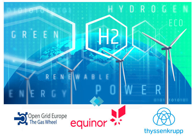 thyssenkrupp Steel Europe Equinor and Open Grid Europe to Conduct Joint Feasibility Study to Advance Production of Hydrogen