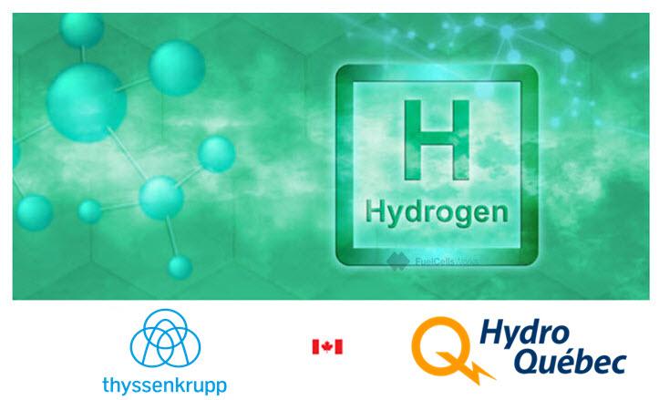 fuel cells works, thyssenkrupp, hydrogen, canada