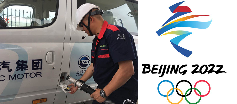 2022 Olympics Hydrogen