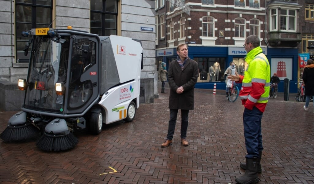 fuelcellsworks, Municipality of Utrecht Shows Off its Sweeper Running on Green Hydrogen