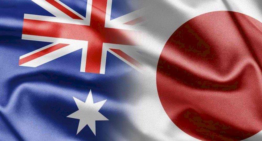 Aus Japan Flag c32b
