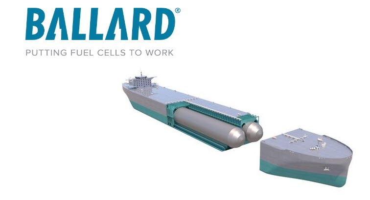 Ballard Signs MOU with Global Energy Ventures For Development of Fuel Cell Powered Ship