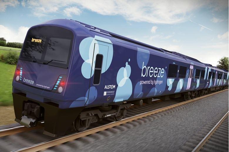 Breeze Hydrogen Train TW