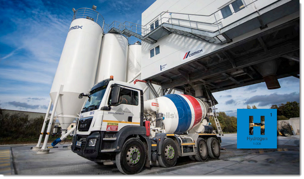 fuelcellsworks, CEMEX Successfully Deploys Hydrogen-based Ground-breaking Technology