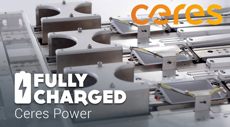 Ceres Power Fully Charged Main