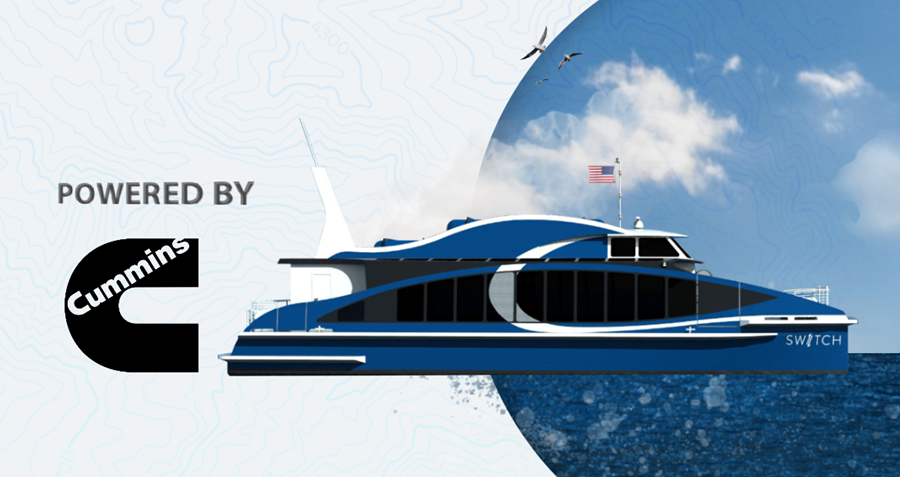 Cummins Fuel Cells Powering North Americas First Commercial Zero Emissions Ferry