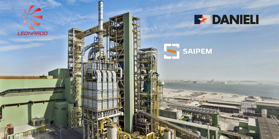 Danieli Leonardo and Saipem Working Together for the Green Conversion of Steel