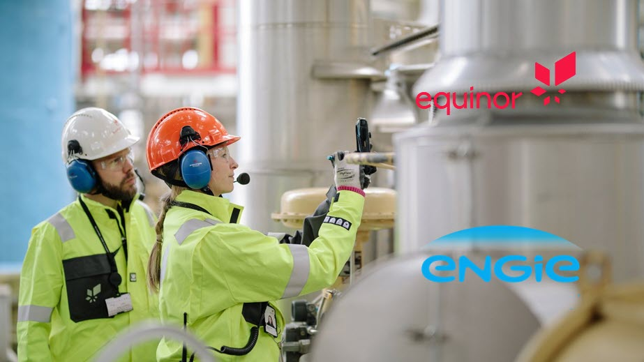 ENGIE and Equinor join forces in the development of low carbon hydrogen