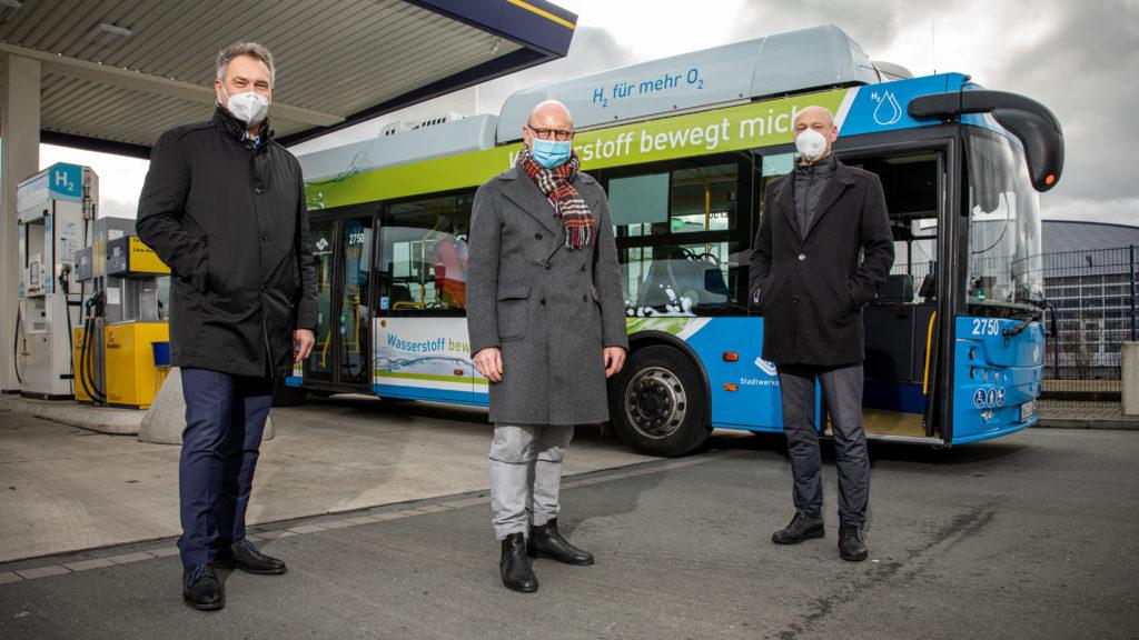 First Hydrogen Bus in Munster 1