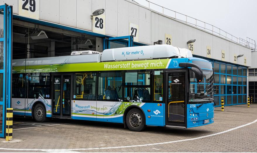 First Hydrogen Bus in Munster Main